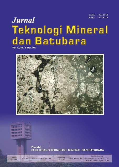 Jurnal Teknologi Mineral dan Batubara Edisi Mei 2017