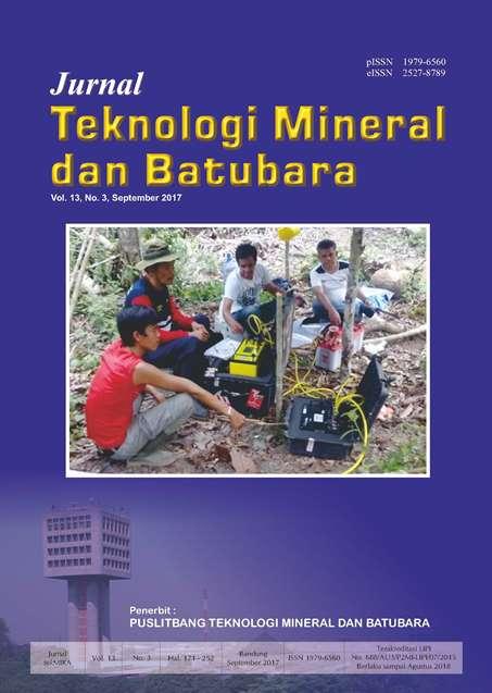 Jurnal Teknologi Mineral dan Batubara Edisi September 2017