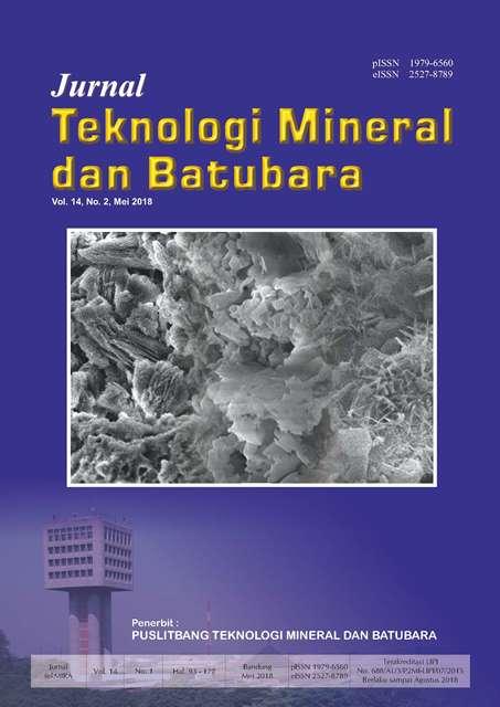 Jurnal Teknologi Mineral dan Batubara Edisi Mei 2018